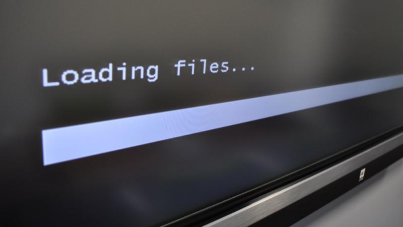 loading files